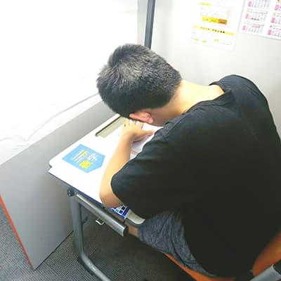夏期講習参加の中学三年生T・Mさん