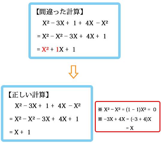 間違えやすい計算3-1